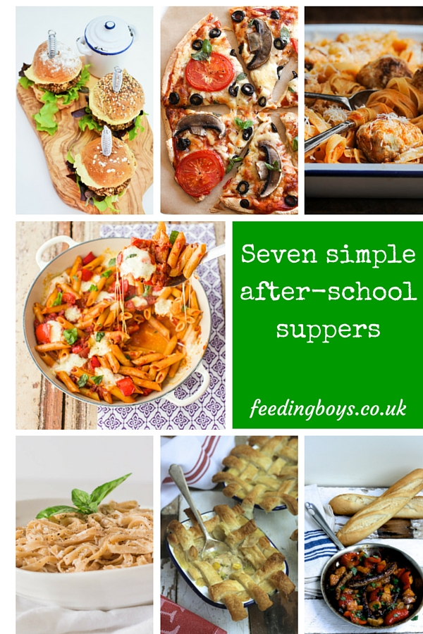 Seven simple after-schools uppers on feedingboys.co.uk