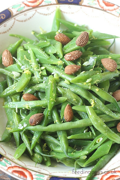 Zesty Green Beans on feedingboys.co.uk