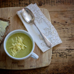 Leek and Broccoli Soup on feedingboys.co.uk - perfect for batch cooking