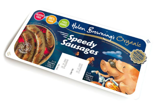 Helen Browning's Organic Speedy Sausages