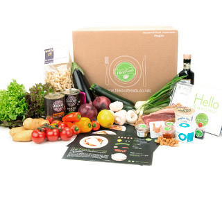 Hello Fresh Family Recipe Box