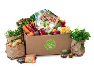 Hello Fresh Veggie Recipe Box