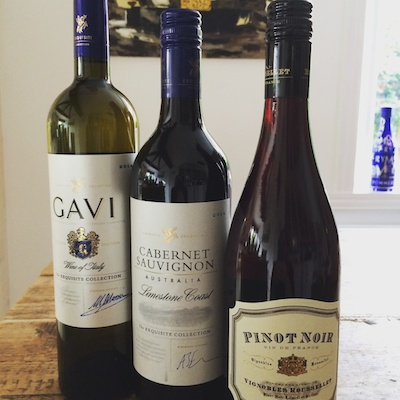 A selection of wines from Aldi on feedinboys.co.uk