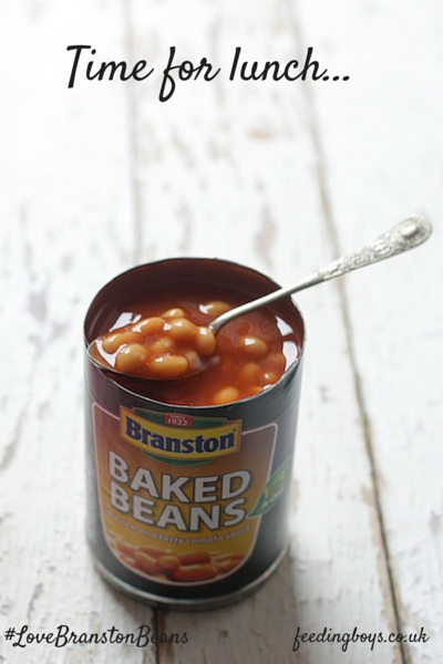 #LoveBranstonBeans campaign on feedingboys.co.uk