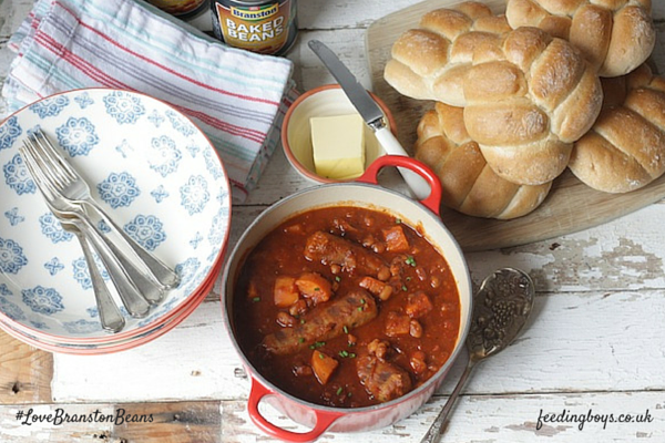 how to cook sausage casserole in slow cooker