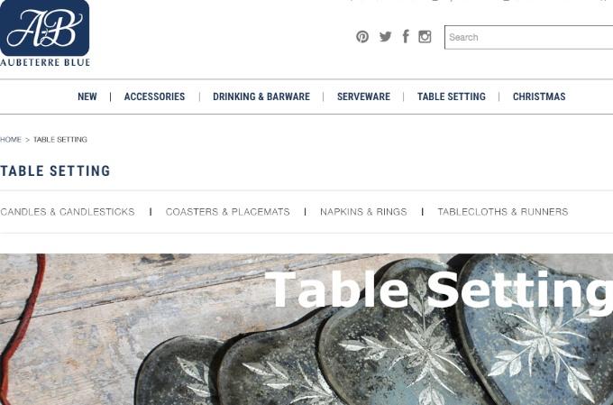 Aubeterre Blue website