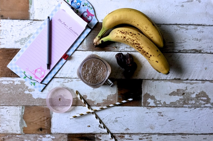 Happy New Year Smoothie on feedingboys.co.uk