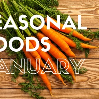 Which foods are in season in January?