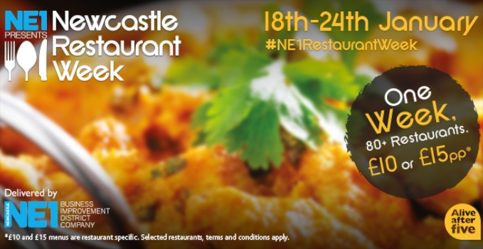 Newcastle NE1 Restaurant Week