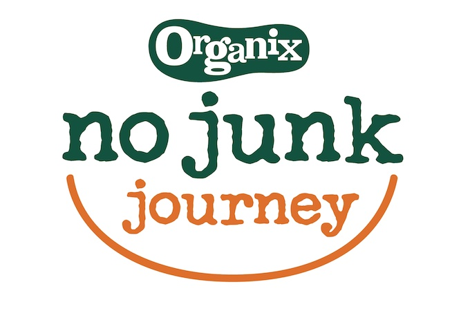 Organix No Junk Journey on feedingboys.co.uk