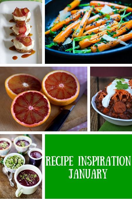 recipe inspiration for january on feedingboys.co.uk