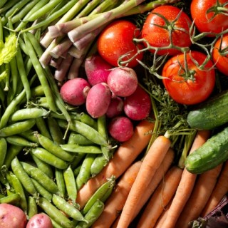 Organic Vegetables from the Farmers Market-Photographed on Hasselblad H3D-39mb Camera