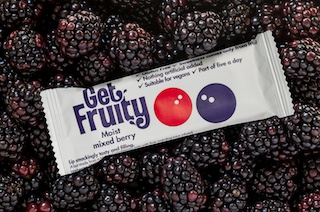 Win a bundle of Get Fruity bars - a range of gluten-free and vegan friendly oat and fruit bars