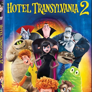 Win Hotel Transylvania 2 on DVD