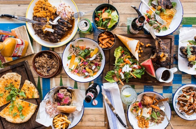 The food at Turtle Bay