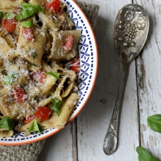 Gennaro Contaldo's Aubergine Peso Pasta for Bertolli on feedingboys.co.uk
