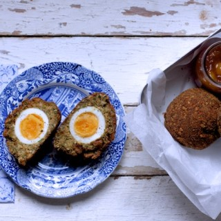 Very easy Vegetarian Scotch Eggs on feedingboys.co.uk