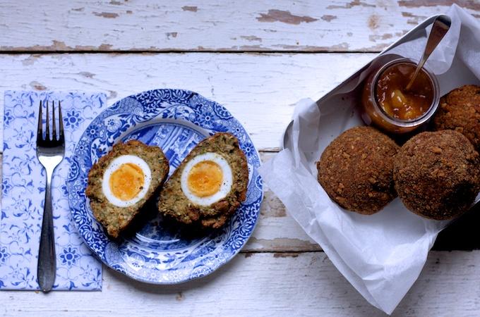 Very easy Vegetarian Scotch Eggs on feedingboys.co.uk