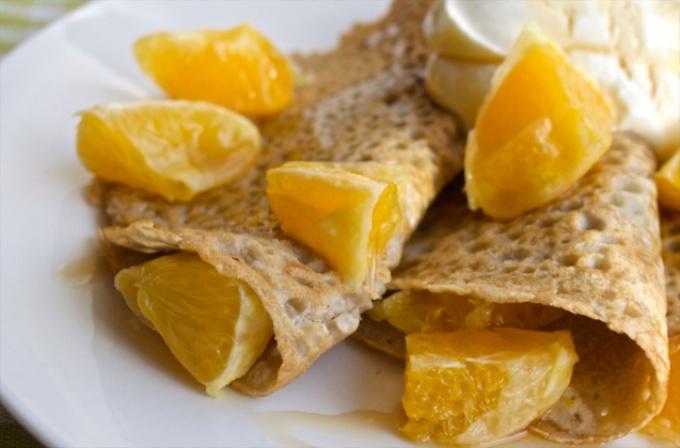 Zesty Orange Pancakes on feedingboys.co.uk for #NoJunkJourney