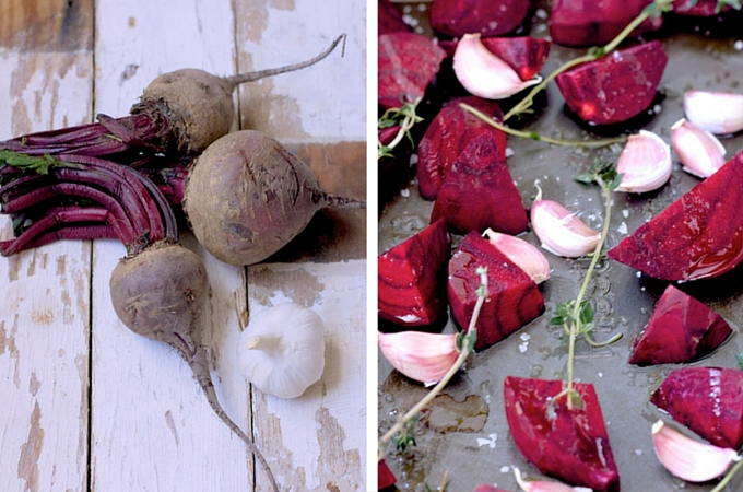 Organic beetroot and garlic on feedinboys.co.uk for #OrganicUnboxed