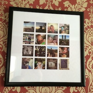 Win Cheerz Framed Photo Collage