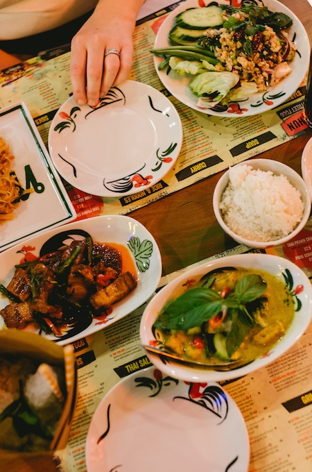 Review of Thaikhun restaurant at the Metro Centre on feedingboys.co.uk - photography by Sharron Gibson