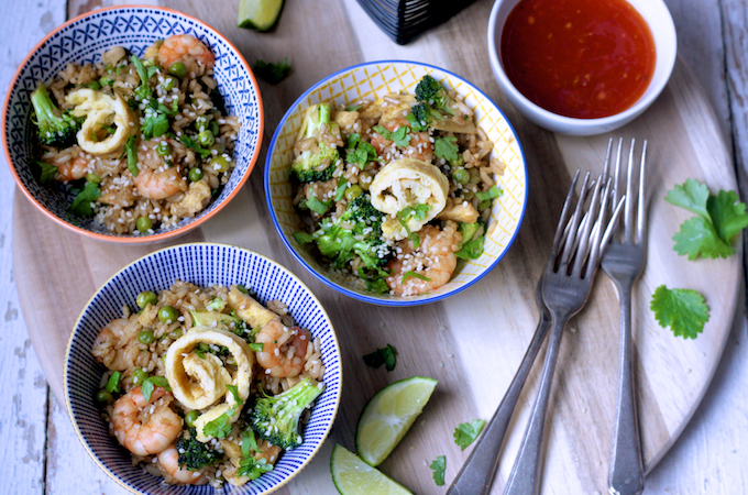 Special Egg Fried Rice on feedingboys.co.uk is a quick and easy kids teatime recipe
