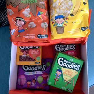 Review: Organix Goodies new snacking range #NoJunkJourney