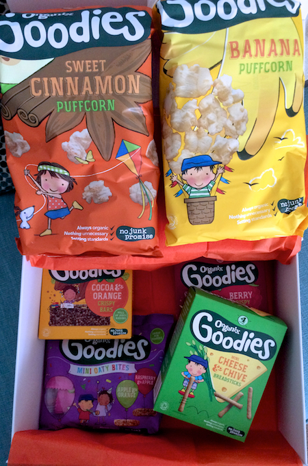 Review of Organix Goodies new snack range #NoJunkJourney #BigTasteLittleAdventures