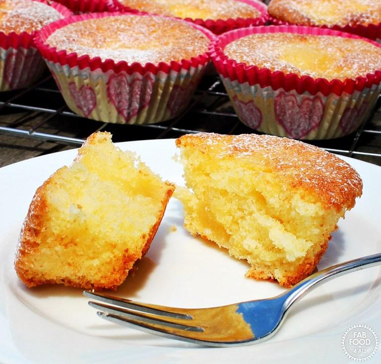 Lemon-Elderflower-Curd-Cupcakes from Fab Food 4 All