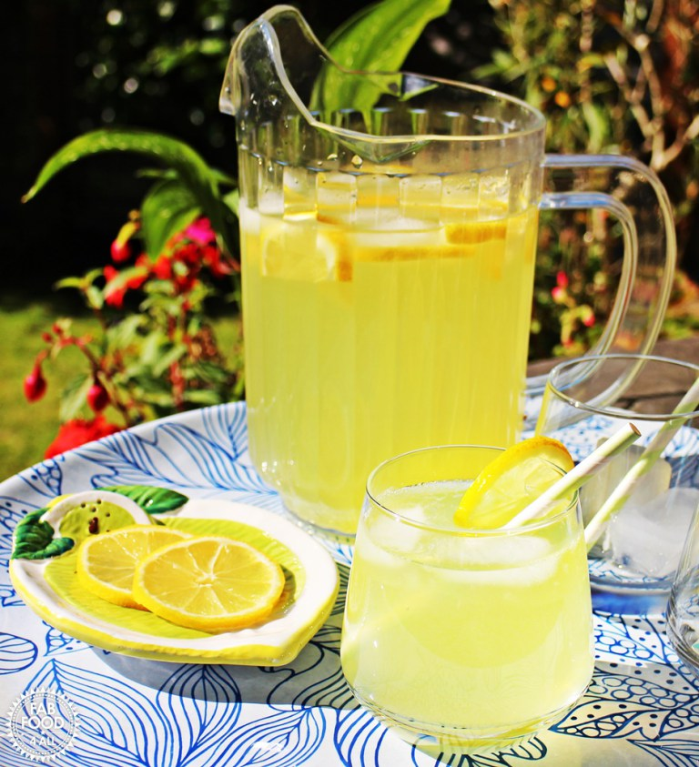 Old-Fashioned-Lemonade- from Fab Food 4 All