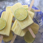 Mango, coconut and lime popsicles on feedingboys.co.uk