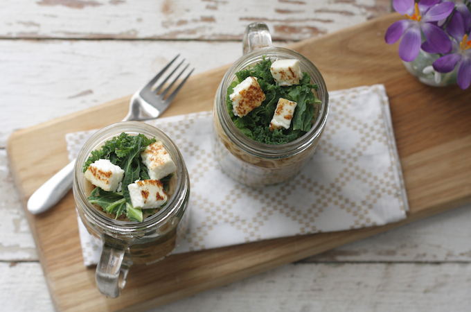 Four ingredients lunches for the sleep deprived on mush.com by Katie Bryson