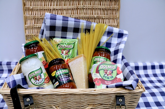 Win Hamper worth £50 from Dolmio on feedingboys.co.uk