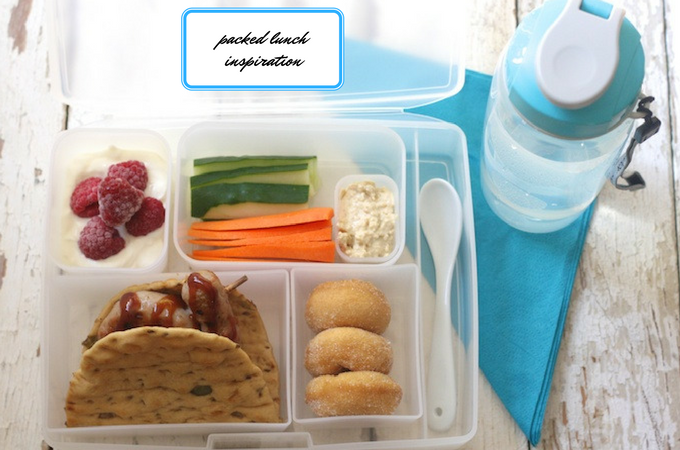 Packed lunch inspiration using Iceland ingredients for #PowerofFrozen on feedingboys.co.uk