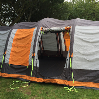 Olpro Martley Breeze Inflatable Tent Review