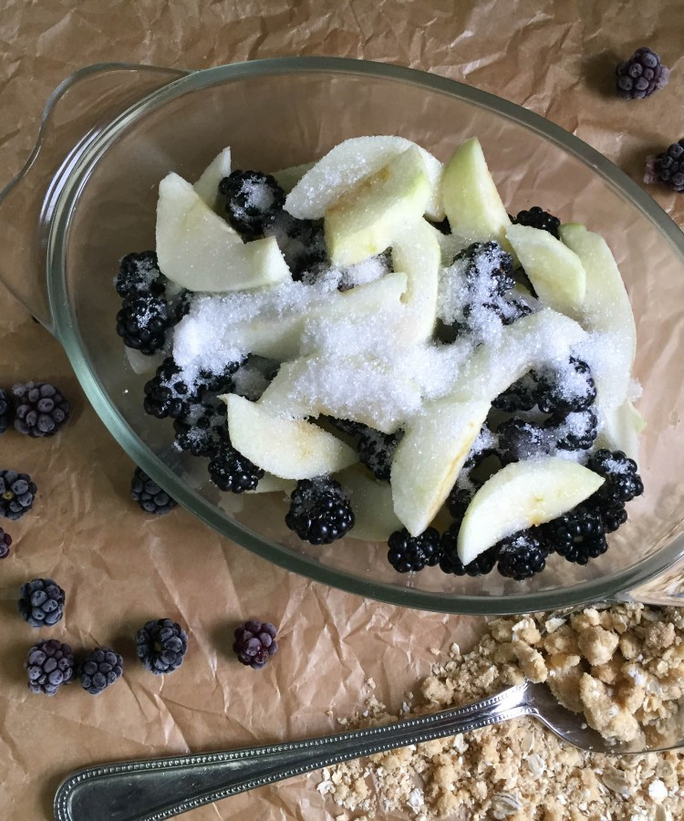 Bramble-and-Apple-Crumble from Farmersgirl Kitchen