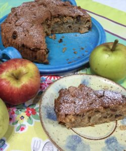 Spiced apple and ginger cake from Farmers Girl Kitchen for Simple and in Season