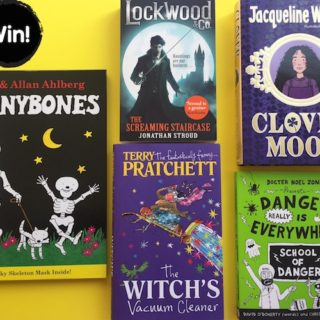 Win bundle of kids spooky reads from Puffin