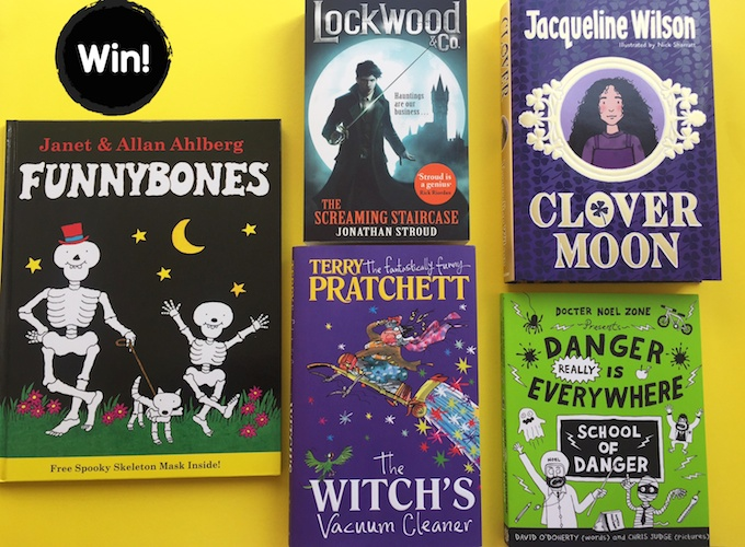 Win bundle of kids spooky puffin reads on feedingboys.co.uk