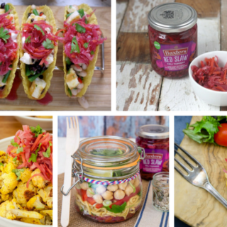 Hacks, tips and recipes using Baxters Red Slaw #GetTopping on feedingboys.co.uk