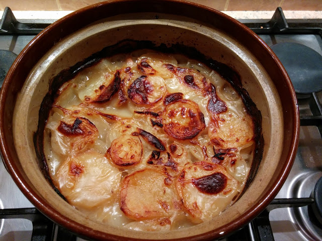 Lancashire hotpot from Onions and Paper for Simple and in Season