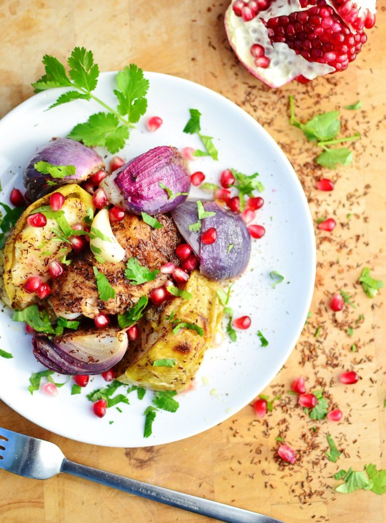 Rooibos Chicken with Autumn Apple from Everyday Healthy Recipes for Simple and in Season