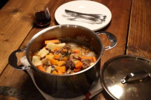 Venison & pheasant stew from the Proware Kitchen blog for Simple and in Season