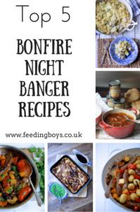 Top 5 bonfire night recipes with bangers on feedingboys.co.uk