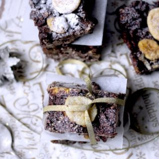 Dark Chocolate, Banana and Date Fridge Cake