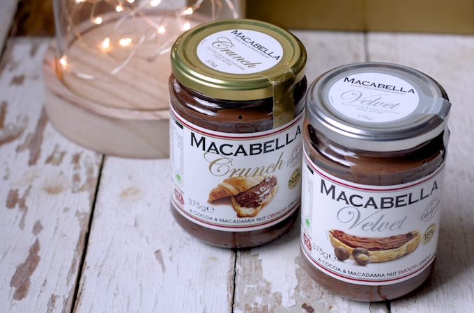 Macabella Spread comes in Velvet and in Crunch varieties