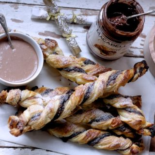 Macabella Nutty Chocolate Twists