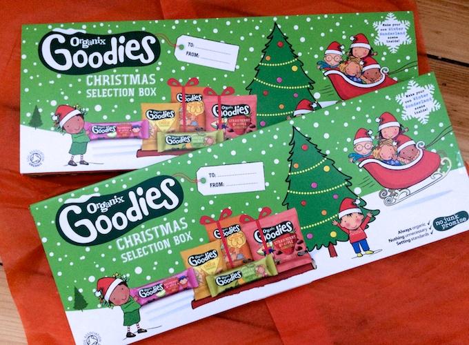 Organix Goodies Christmas Selection Box #NoJunkJourney