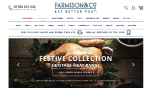 Farmison & Co Website